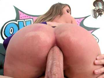 Starry slut Harley Jade visits Mike Adriano for a good portion of anal fuck